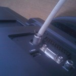 Fachowo zarobiona wtyczka antenowa :)